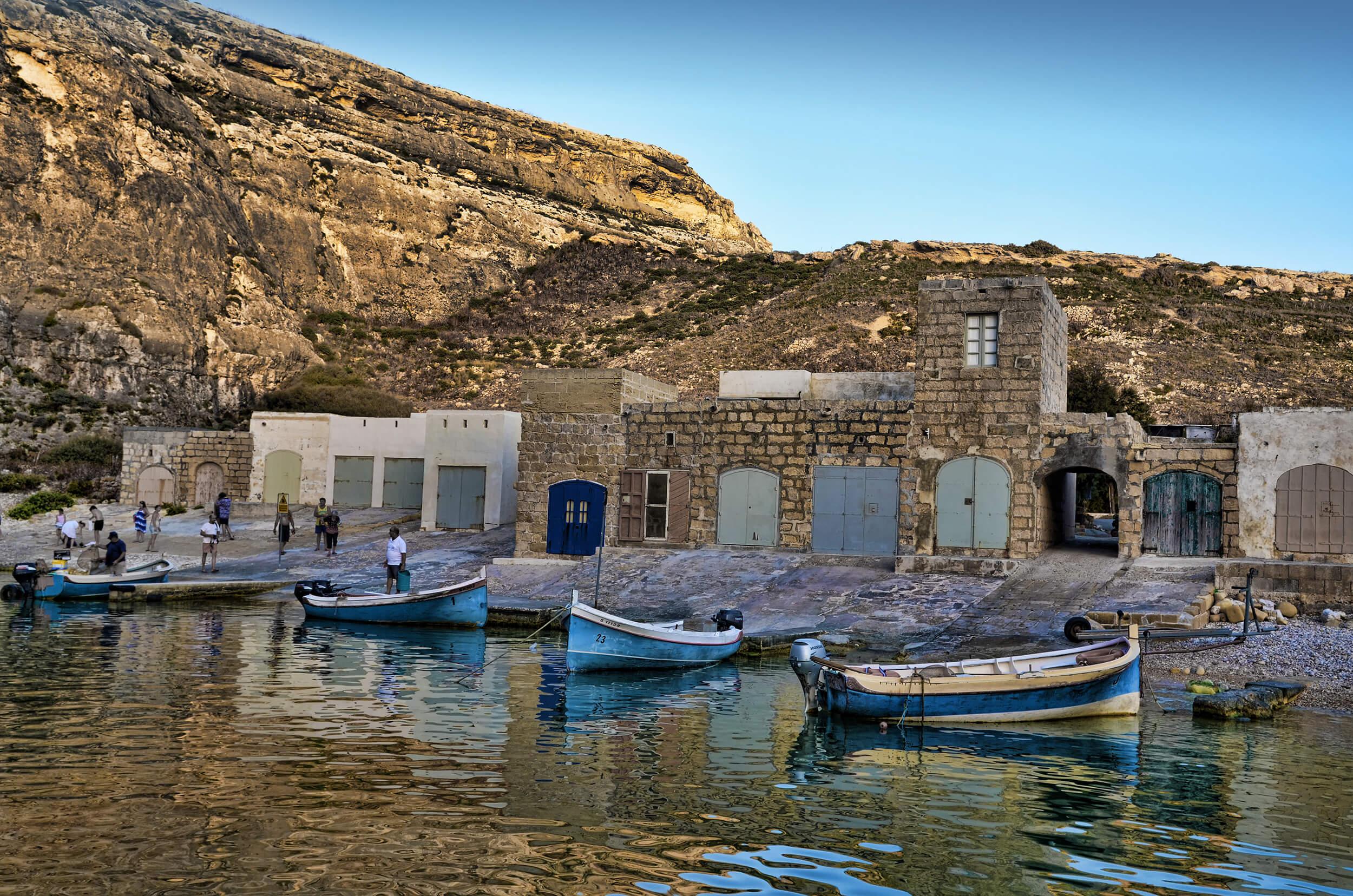 Dwejra Bay