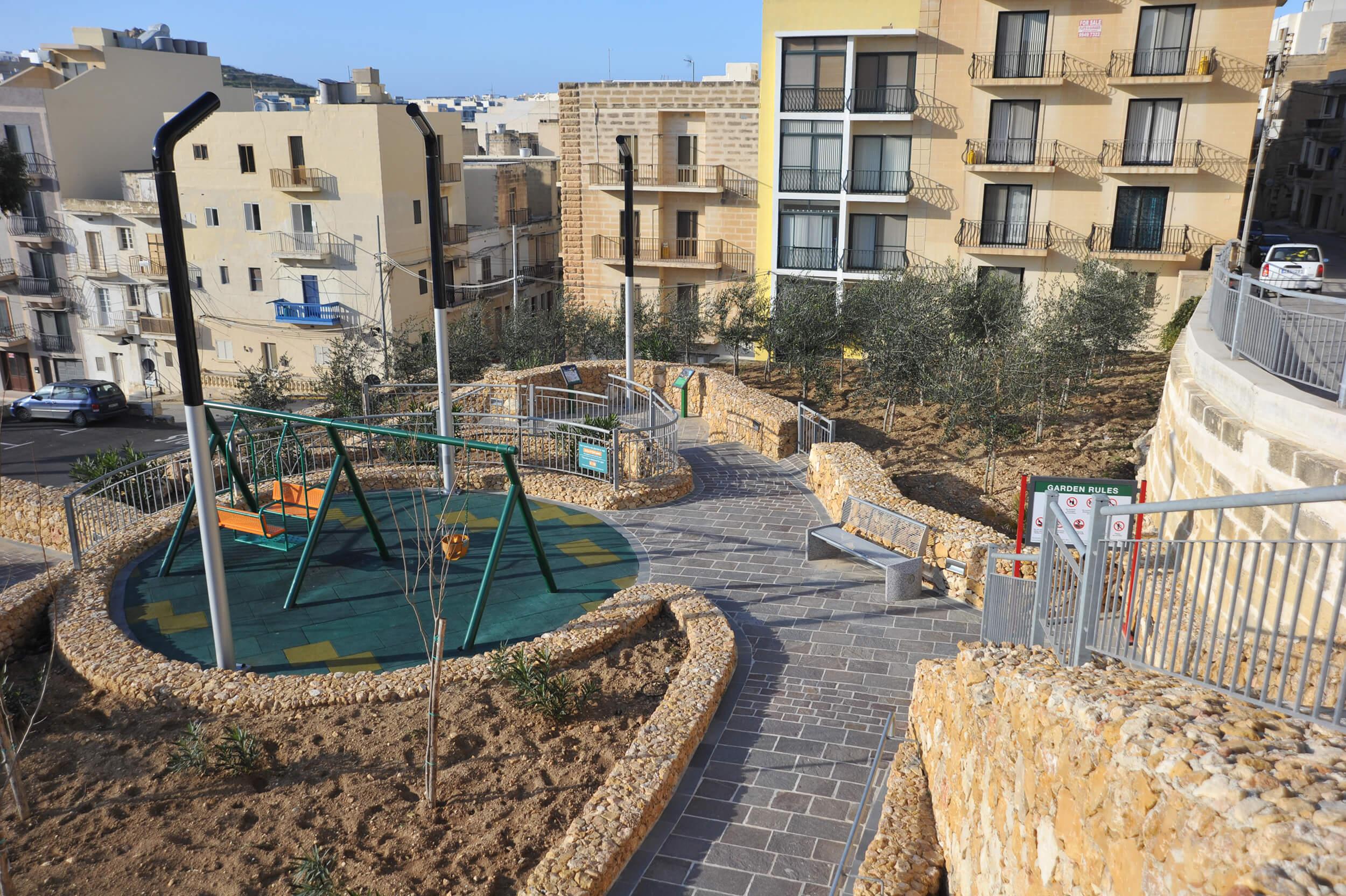 Three Hills Garden