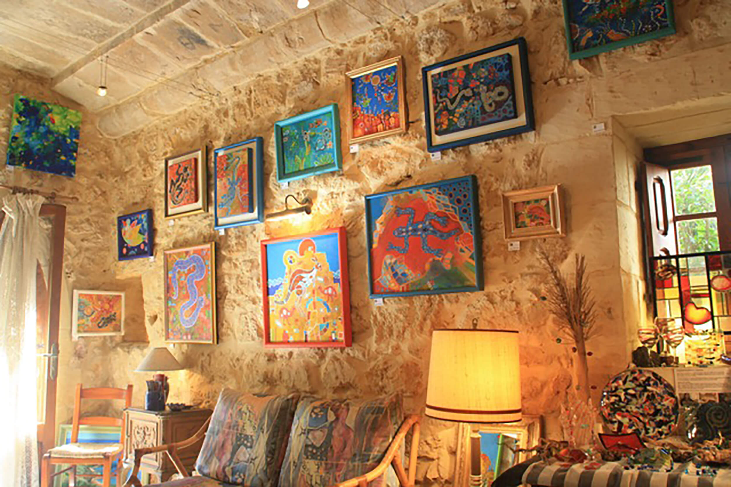 The Farmhouse Gallery at Zebbug-The Art of Blues