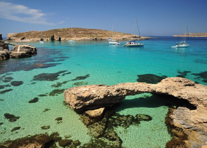 The Blue Lagoon at Comino