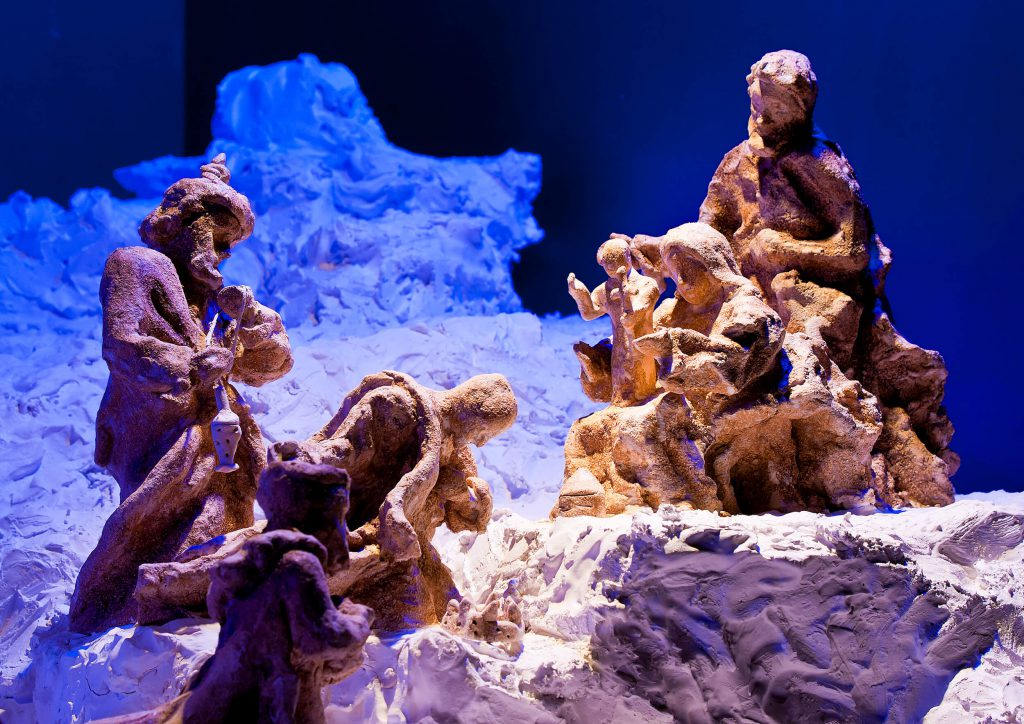 Various crib exhibitions and nativity scenes are on show in many villages in Gozo.