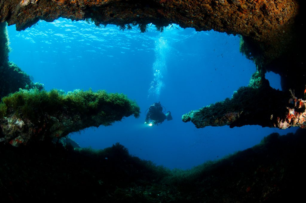 Gozo provides many diving sites