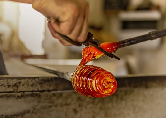 glass blowing Christmas gifts, art and crafts gozo