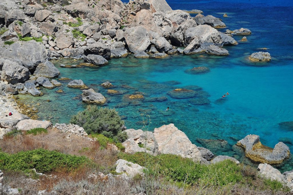Beaches, coves and secret inlets - a Mediterranean paradise