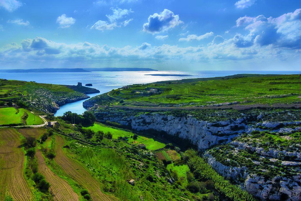 Mġarr ix-Xini Valley