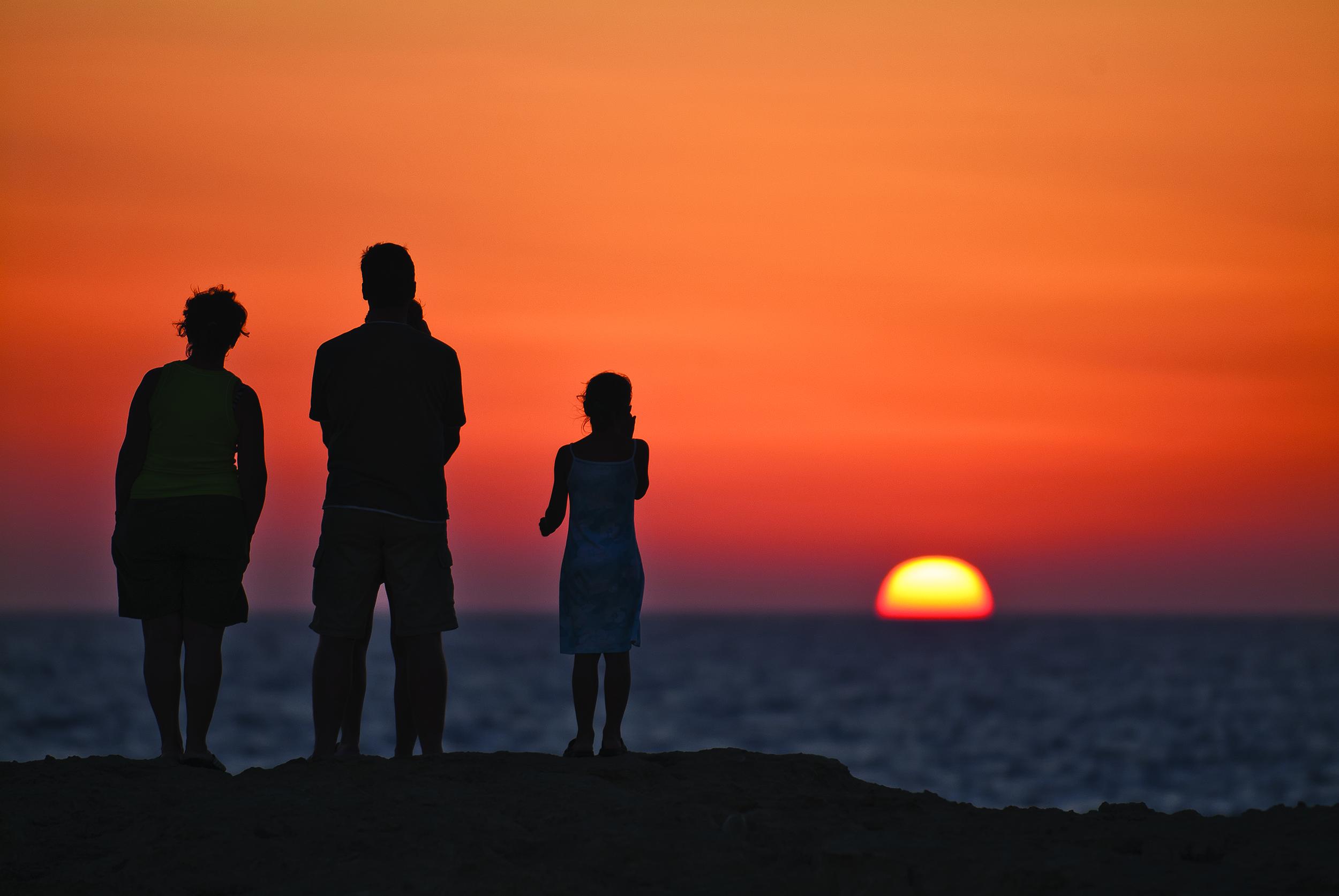 Sunset at Dwejra