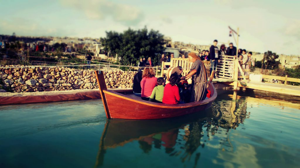 A ride on the lake at Bethlehem in Għajnsielem