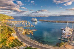 Mġarr Harbour, Gozo, First visit in Gozo