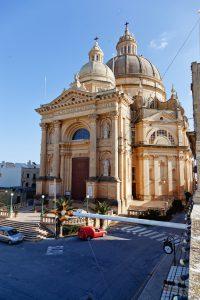 The architectural gem of Xewkija church in Gozo