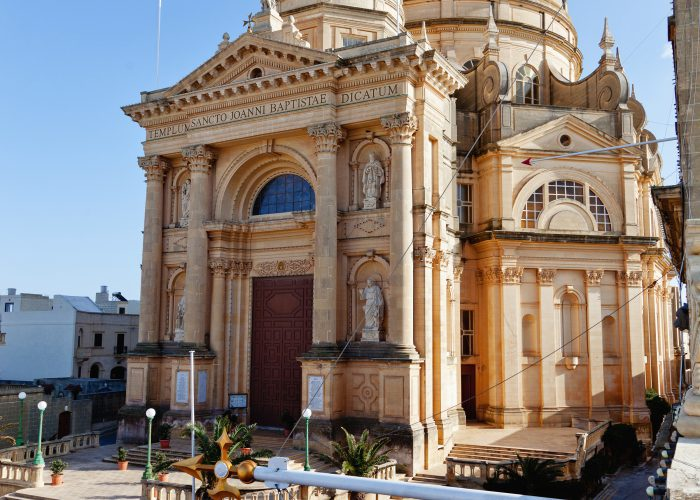 The architectural gem of Xewkija church in Gozo