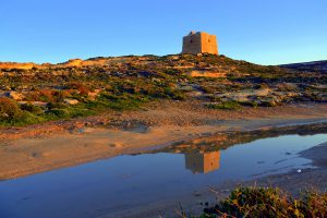 Dwejra Tower, Towers in Gozo