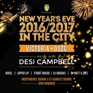 New Year's Eve 2016/2017 In the City