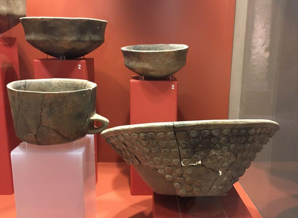 More pottery from Ġgantija, Gozo