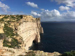 Sanap Cliffs in Munxar