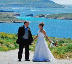 Weddings in Gozo - picture perfect scenery all year round