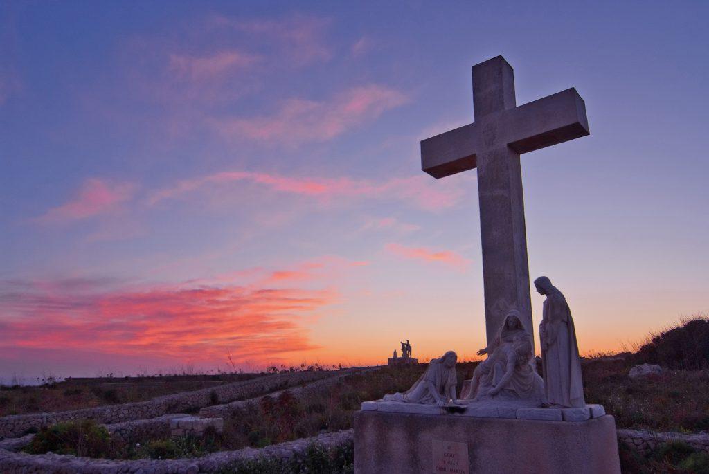 Via Crucis on the Għammar hillside