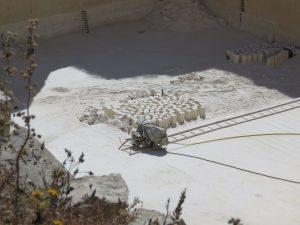 Quarry in Gozo