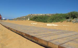 Accessible beaches in Gozo