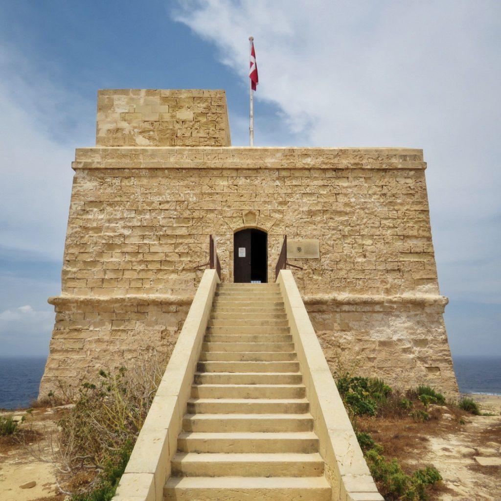The Dwejra coastal tower