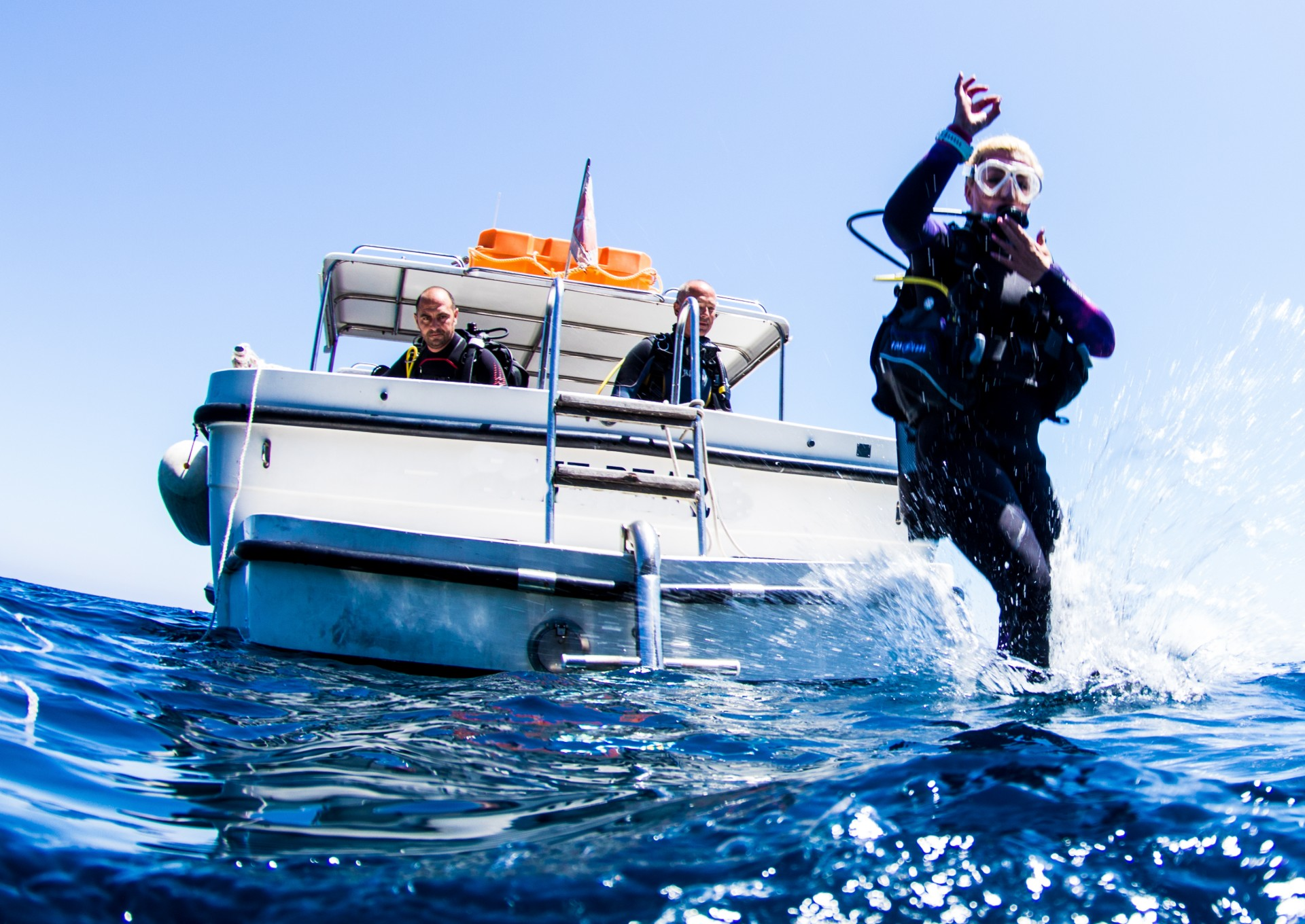 Boat Dive Visit Gozo