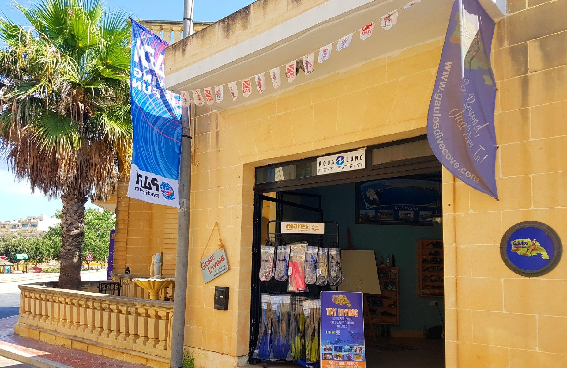 Dive Centre Visit Gozo