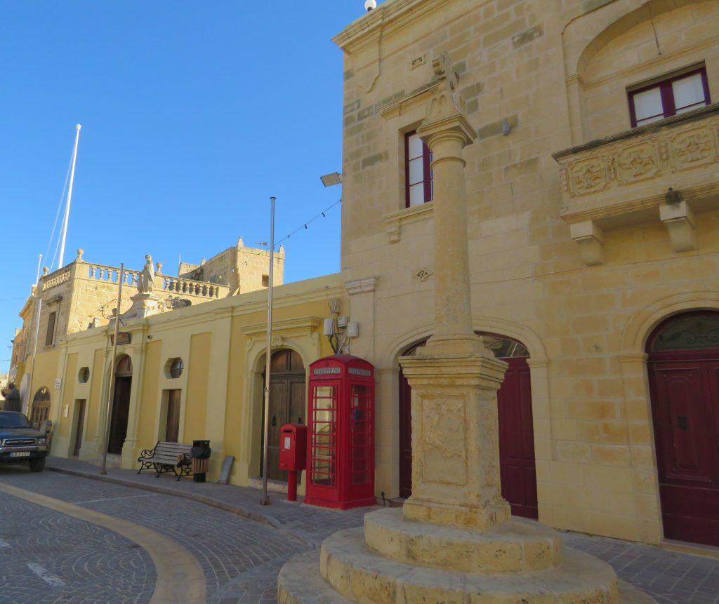 The Għarb Folklore Museum located in the village square