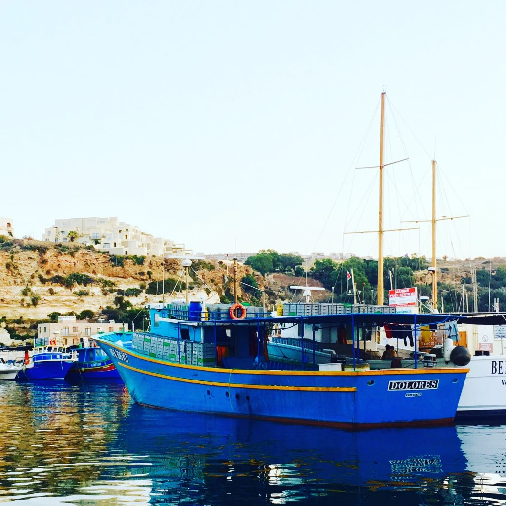 Fishing boat - Mgarr Harbour