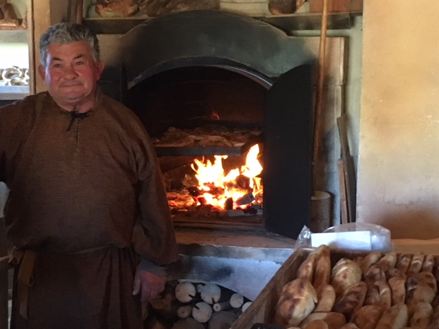 The baker at Bethlehem in Għajnsielem