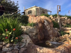 Bethlehem in Għajnsielem comes complete with stream and lake
