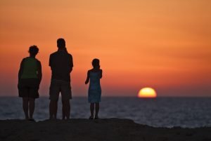 Family Holiday in Gozo, Sunset