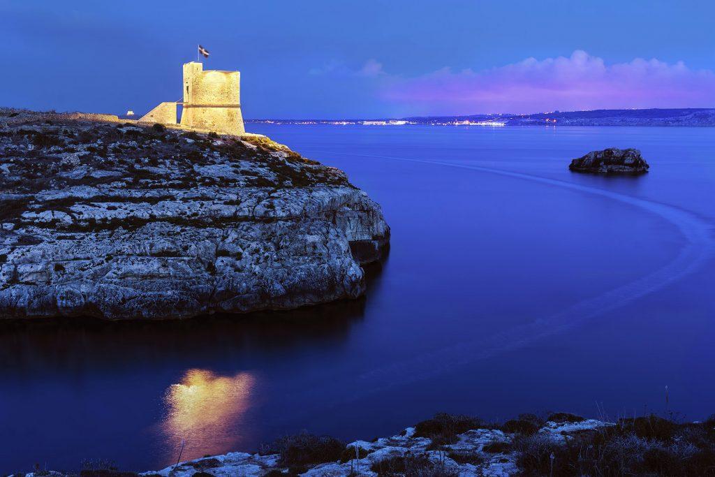 Mġarr ix-Xini Coastal tower Photo Credit: Daniel Cilia