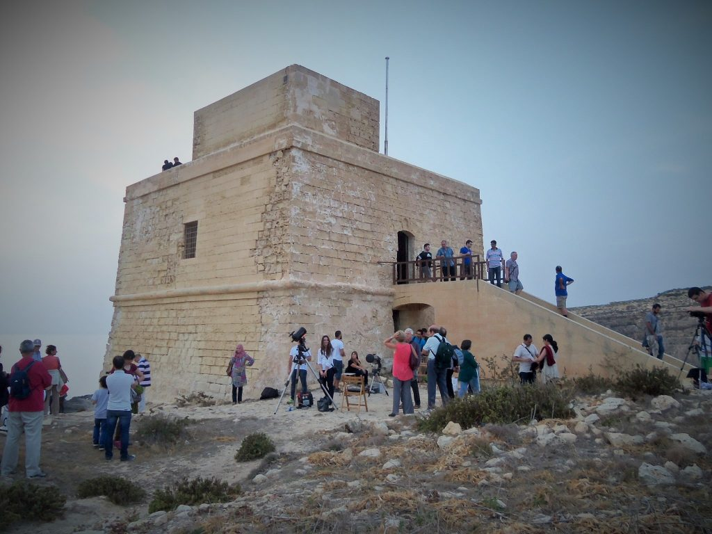 Stargazing at Dwejra Gozo