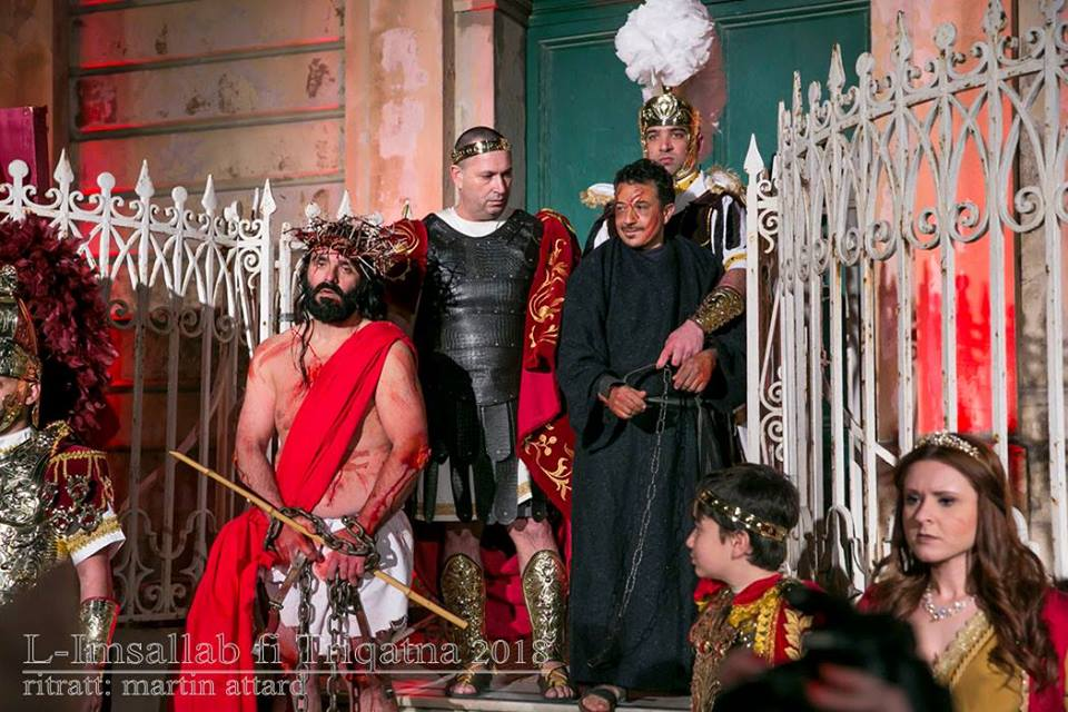 Dramatisation of the passion of the Christ in Gozo