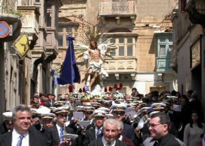 Easter Sunday Parade in Gozo