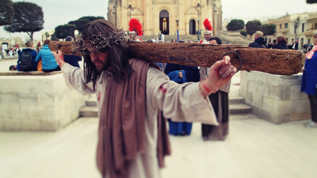Good Friday procession in Ghajnsielem Gozo