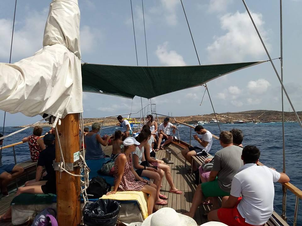 A bay to visit while sailing