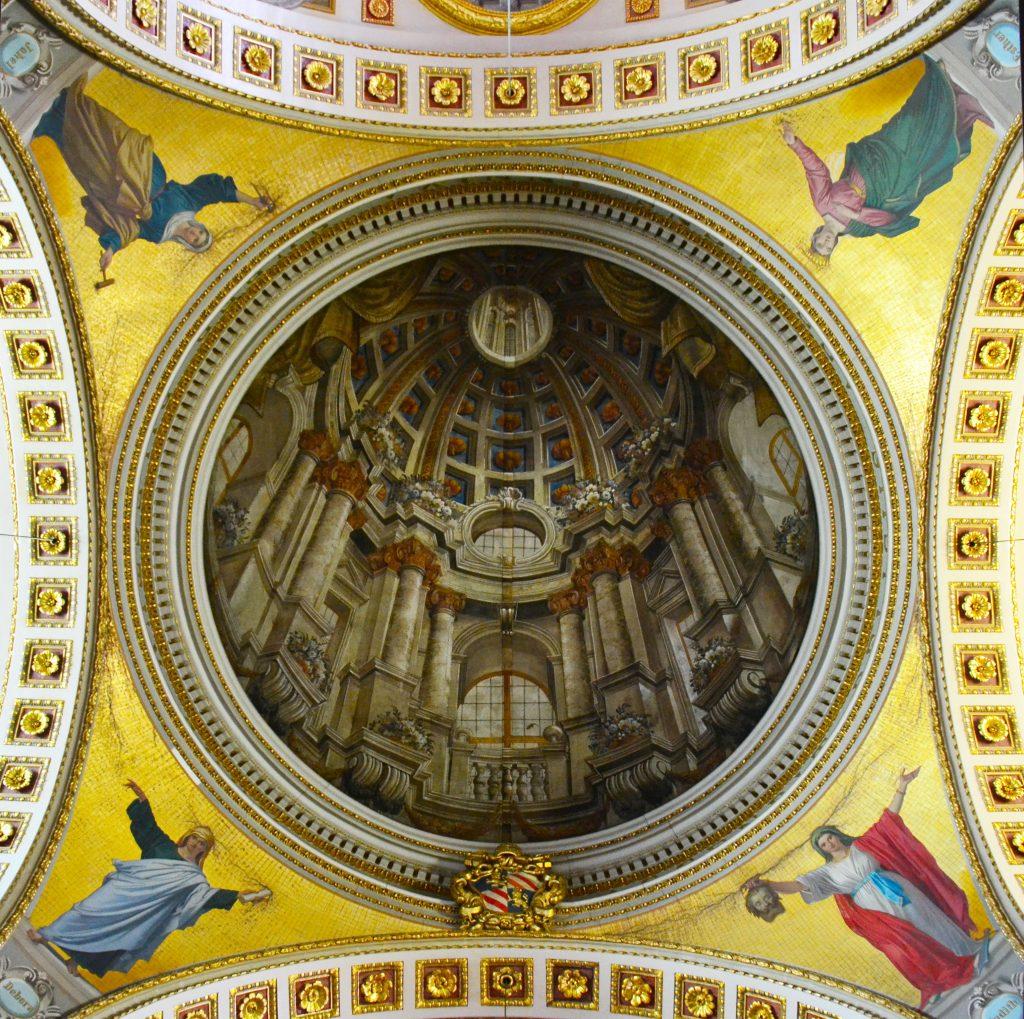 Gozo's Trompe L'oeill found in the cathedral at Cittadella Gozo