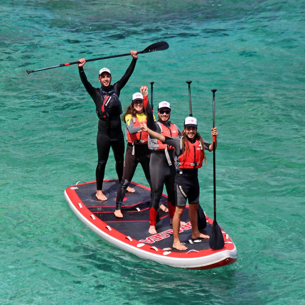 Stand up paddle boarding in Gozo