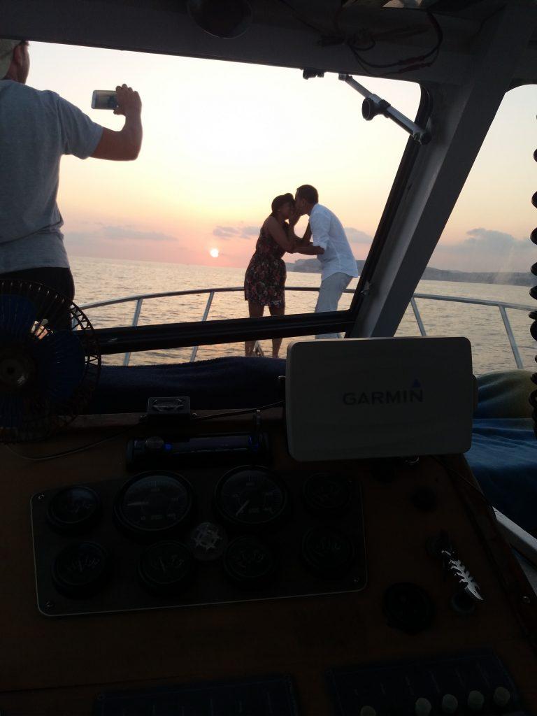 Gozo romantic sunset wedding proposal