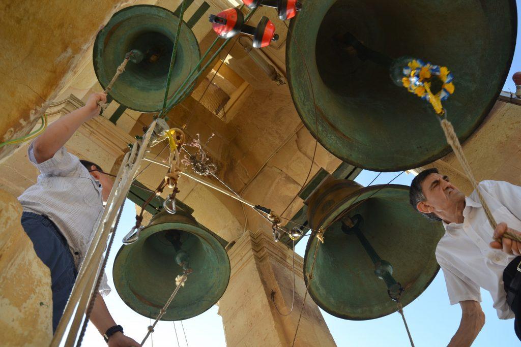 Gozo Church bell ringers