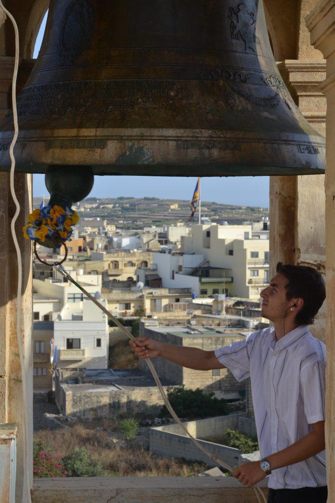 Gozo church bell ringer