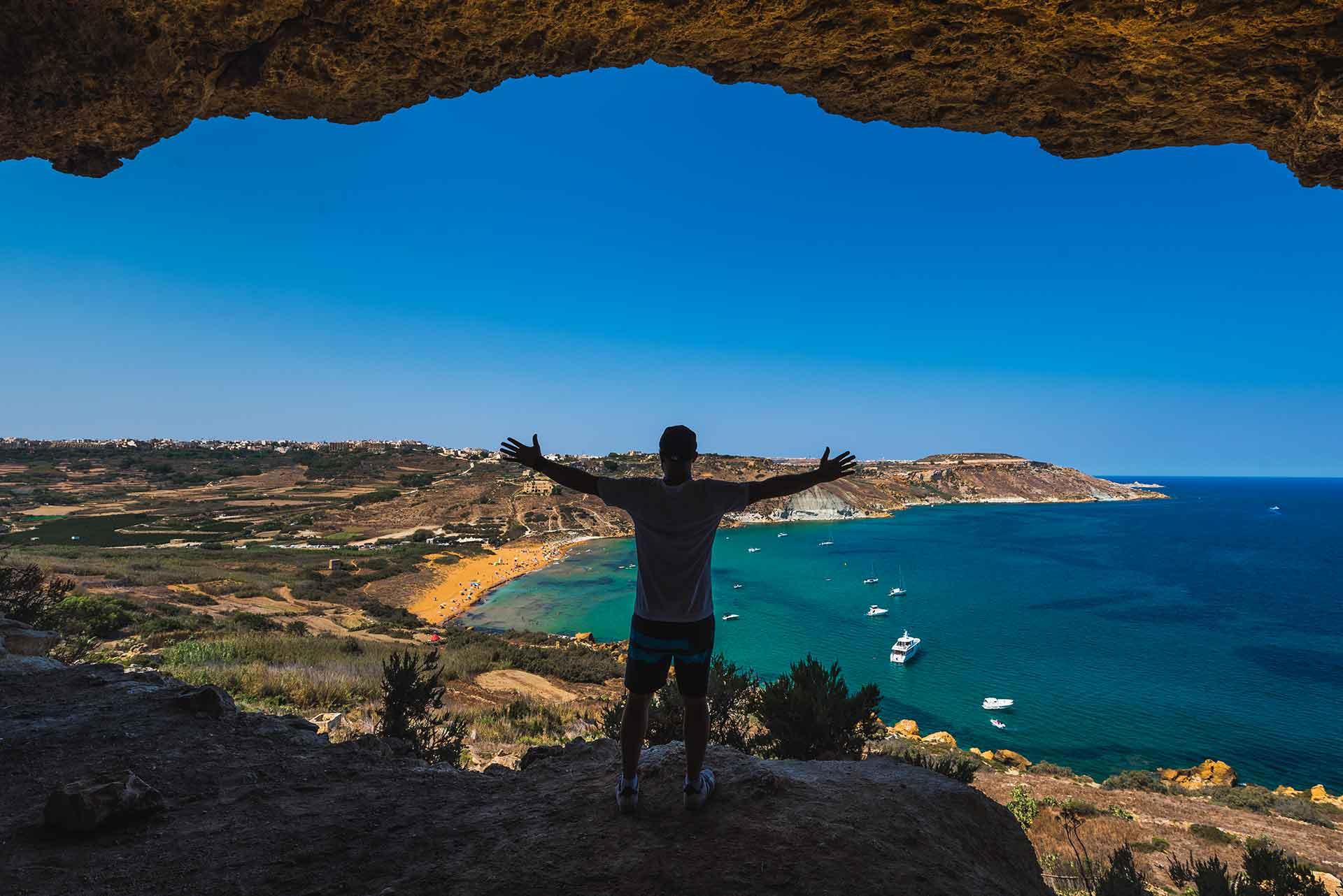 Enjoying-Mixta-Cave-in-Nadur