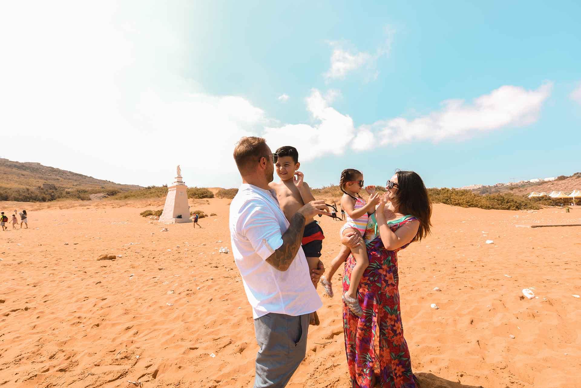 Family-fun-at-Ramla-Bay