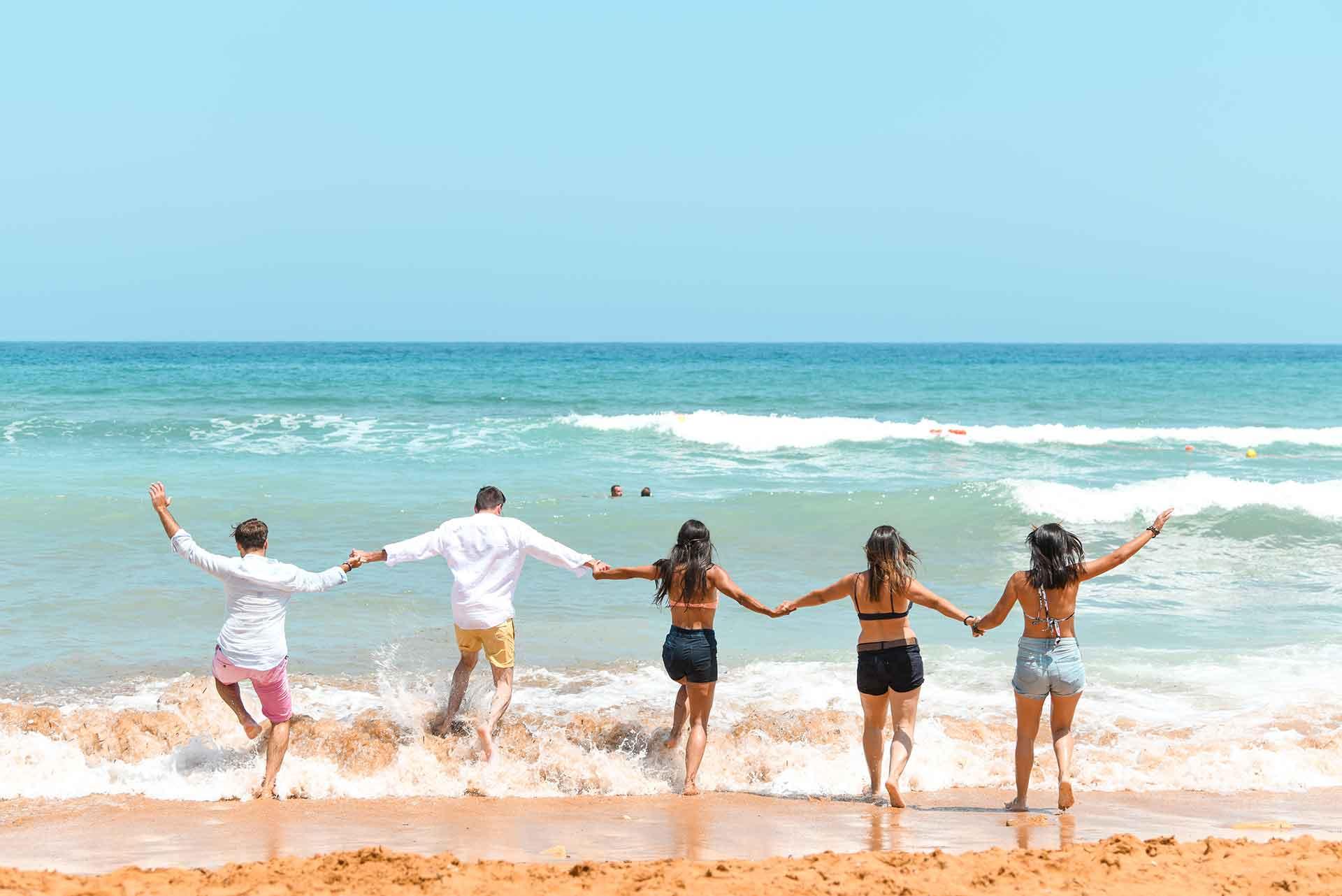 Friends-at-Ramla-Bay
