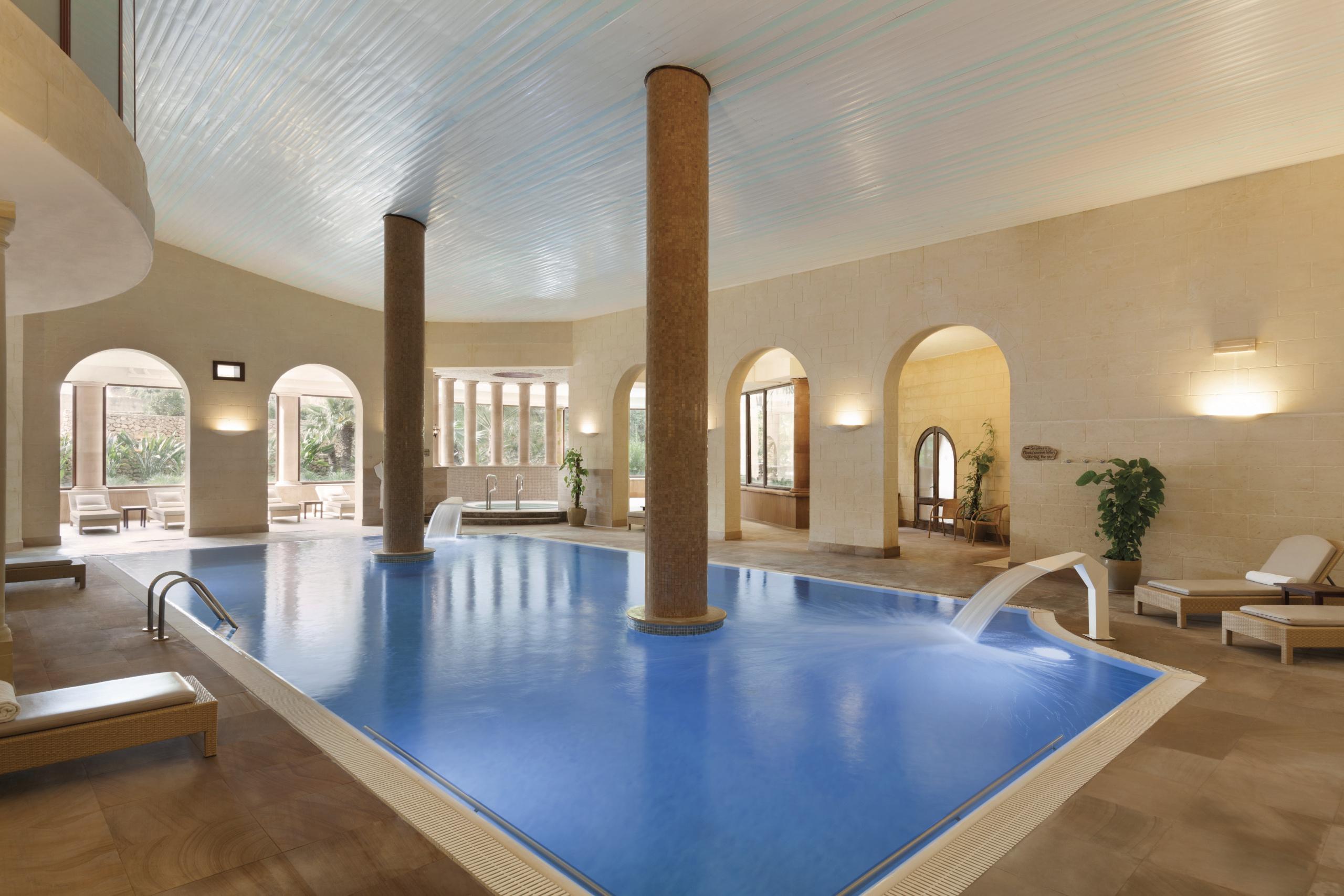Indoor Pool Hotel in Gozo