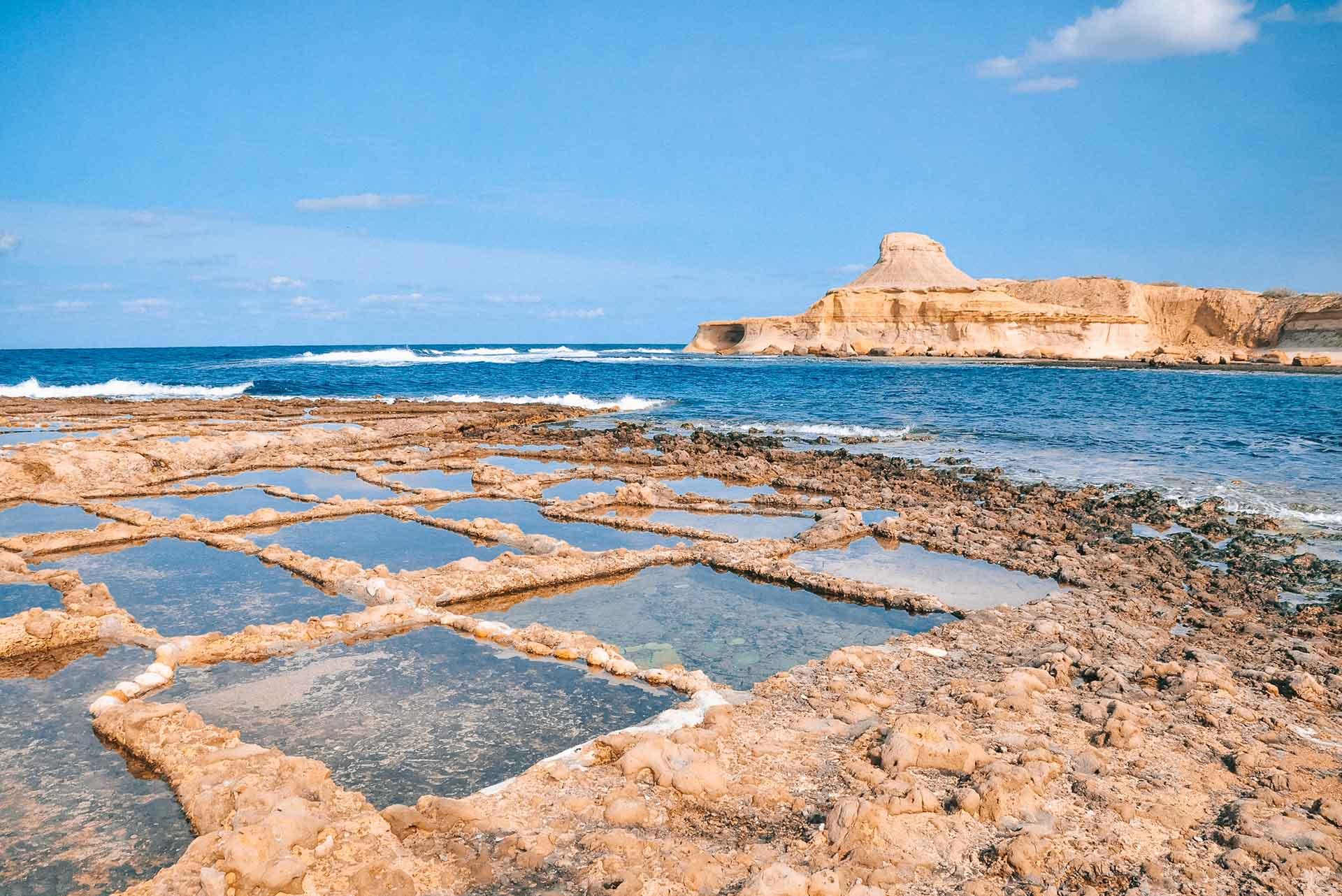 Saltpans-in-Gozo