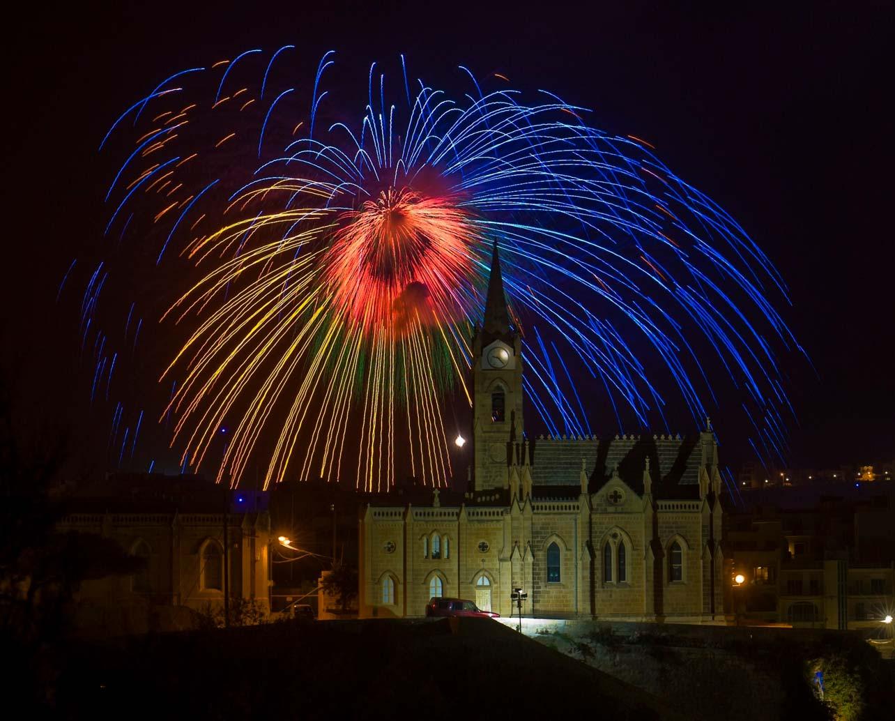 Lourdes-Gozo-fireworks