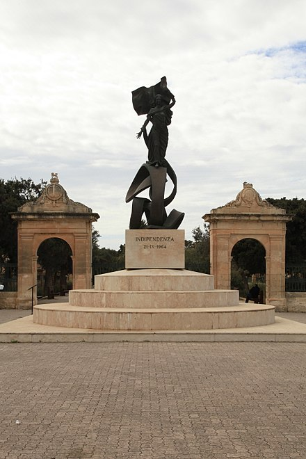 independence monument floriana