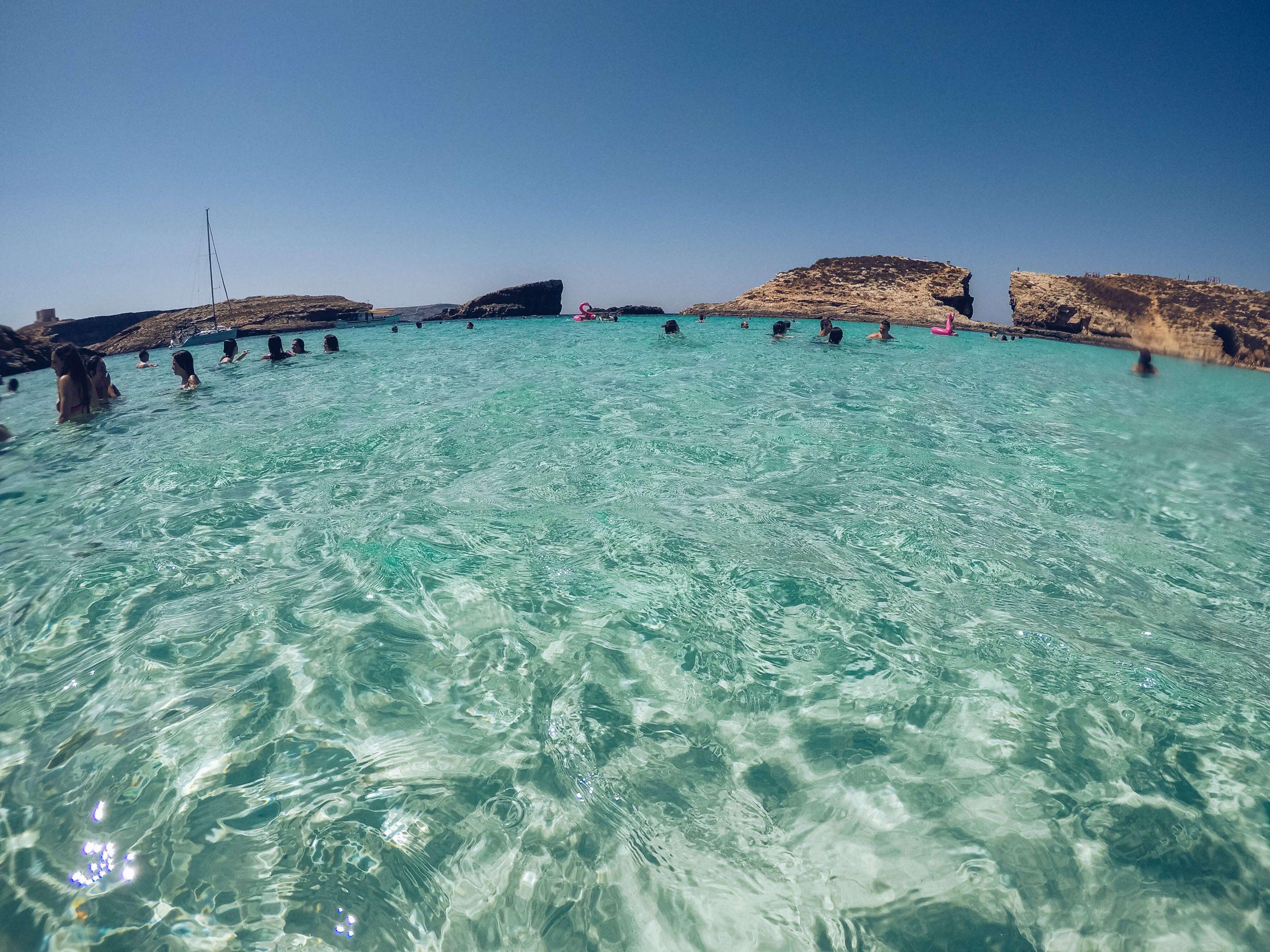 Outdoor explorers Malta Gozo Comino Boat tour Blue lagoon