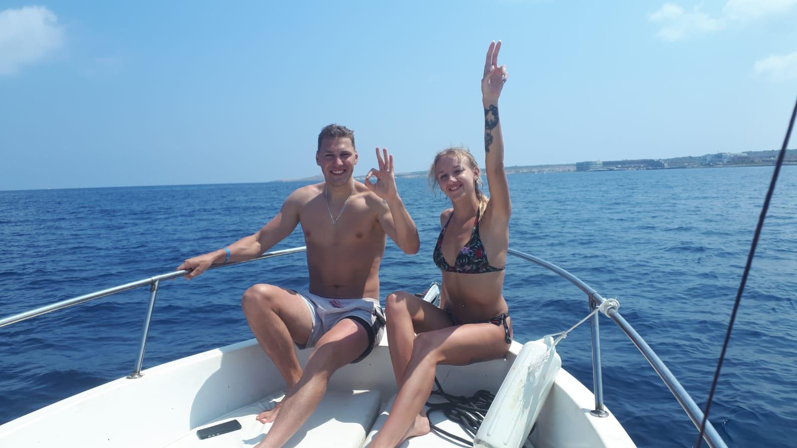 Outdoor explorers Malta Gozo Comino Boat tour trip